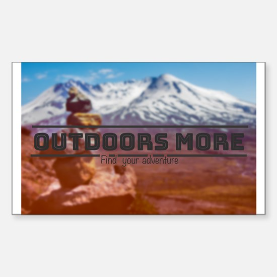Outdoors More @ Mt. St. Helens Decal