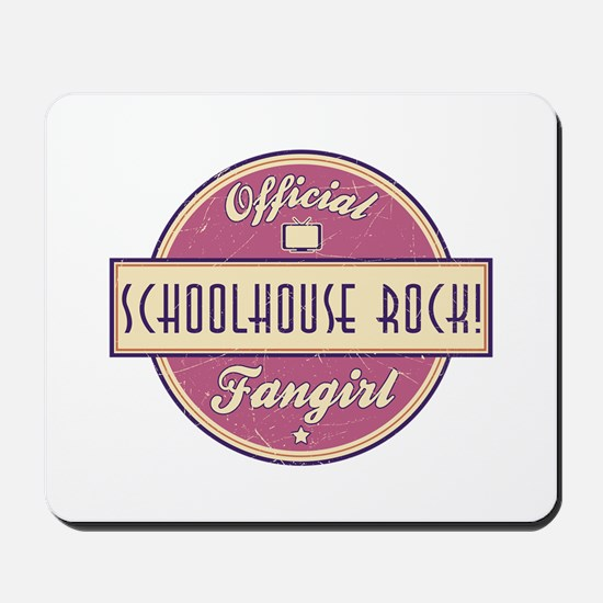 Official Schoolhouse Rock! Fangirl Mousepad