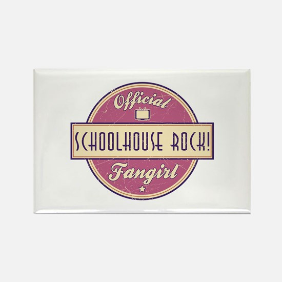Official Schoolhouse Rock! Fangirl Rectangle Magne