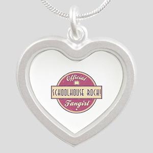 Official Schoolhouse Rock! Fangirl Silver Heart Ne