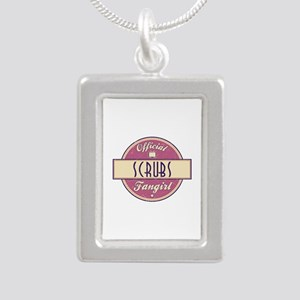Official Scrubs Fangirl Silver Portrait Necklace