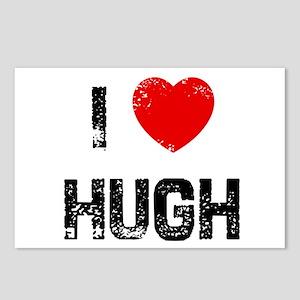 I * Hugh Postcards (Package of 8)