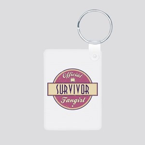 Official Survivor Fangirl Aluminum Photo Keychain
