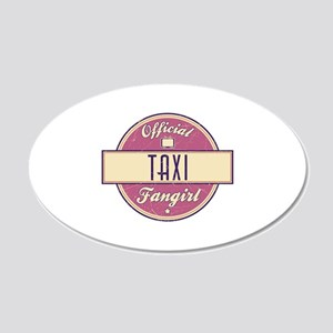Official Taxi Fangirl 22x14 Oval Wall Peel