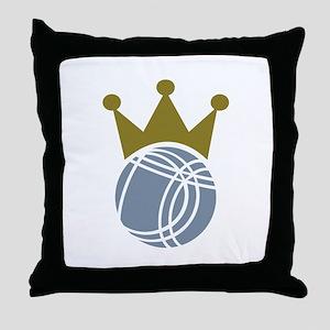Boccia boule champion Throw Pillow
