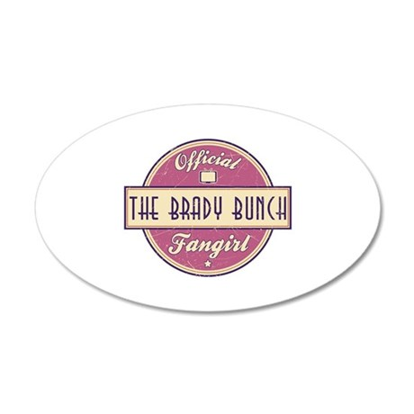 Official The Brady Bunch Fangirl 38.5 x 24.5 Oval