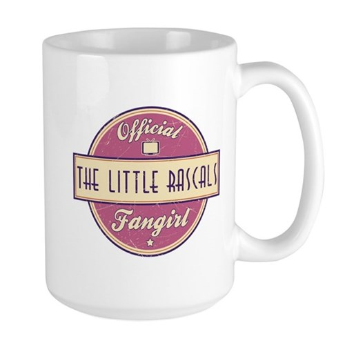 Official The Little Rascals Fangirl Large Mug