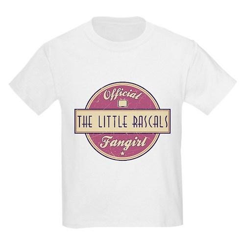 Official The Little Rascals Fangirl Kids Light T-S