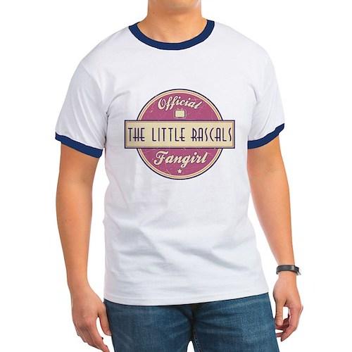 Official The Little Rascals Fangirl Ringer T-Shirt