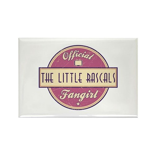 Official The Little Rascals Fangirl Rectangle Magn