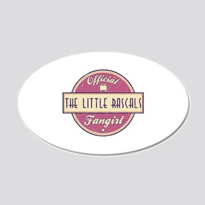 Official The Little Rascals Fangirl 22x14 Oval Wal