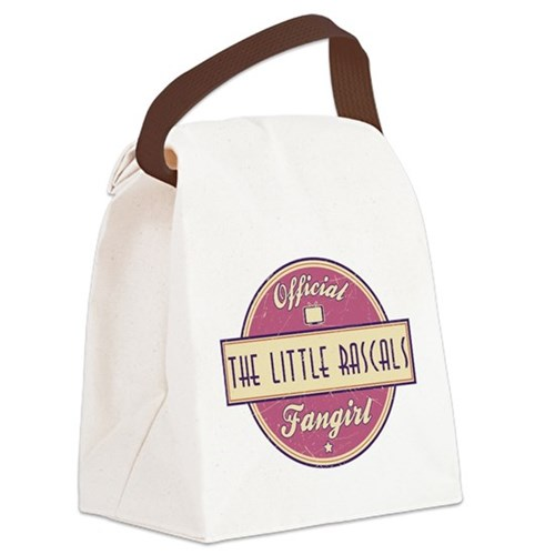 Official The Little Rascals Fangirl Canvas Lunch B