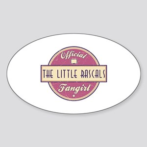 Official The Little Rascals Fangirl Oval Sticker
