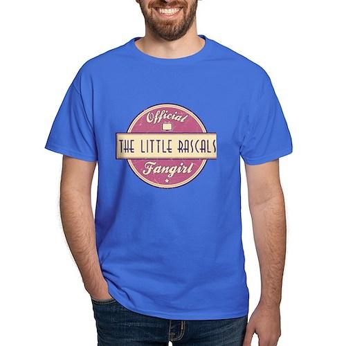 Official The Little Rascals Fangirl Dark T-Shirt