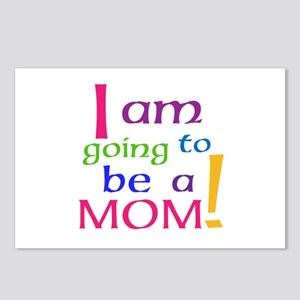 I Am Going To Be A Mom Postcards (Package of 8)