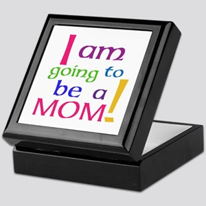 I Am Going To Be A Mom Keepsake Box
