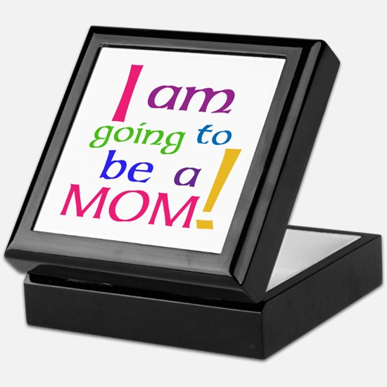 I Am Going To Be A Mom Keepsake Box