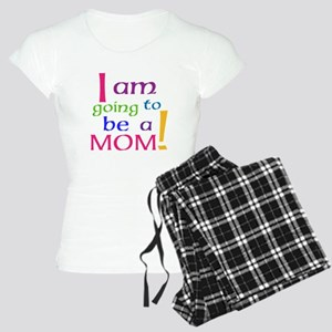 I Am Going To Be A Mom Pajamas