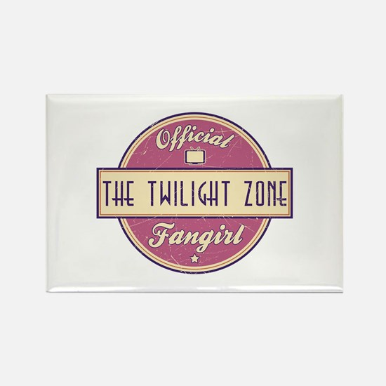 Official The Twilight Zone Fangirl Rectangle Magne