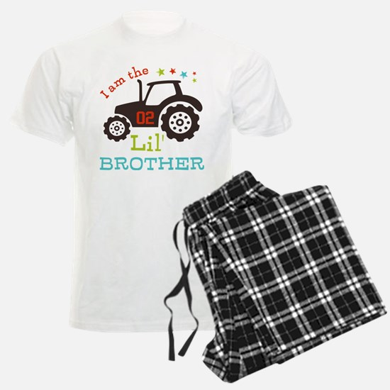 Little Brother Tractor Pajamas