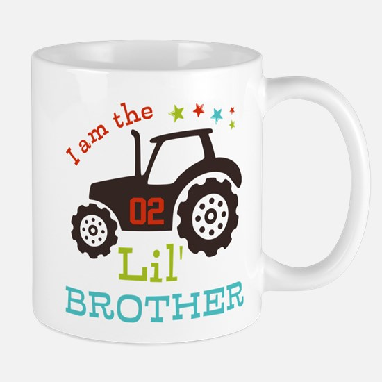 Little Brother Tractor Mug