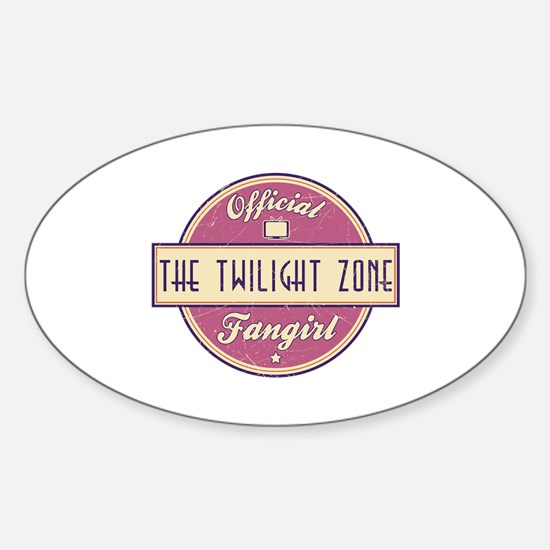 Official The Twilight Zone Fangirl Oval Decal
