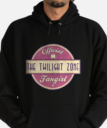 Official The Twilight Zone Fangirl Dark Hoody