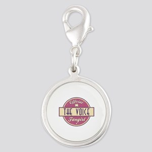Official The Voice Fangirl Silver Round Charm