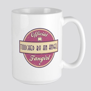 Official Touched by an Angel Fangirl Large Mug