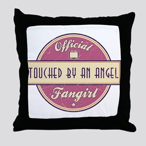 Official Touched by an Angel Fangirl Throw Pillow