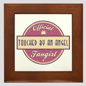 Official Touched by an Angel Fangirl Framed Tile