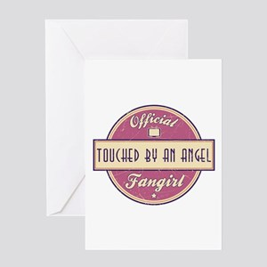 Official Touched by an Angel Fangirl Greeting Card