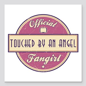 Official Touched by an Angel Fangirl Square Car Ma