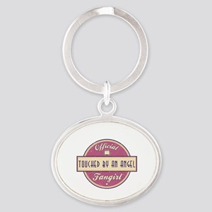 Official Touched by an Angel Fangirl Oval Keychain
