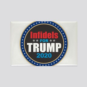 Infidels for Trump 2020 Magnets