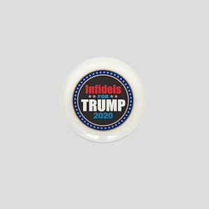 Infidels for Trump 2020 Mini Button