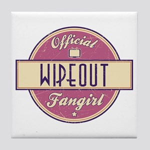 Official Wipeout Fangirl Tile Coaster