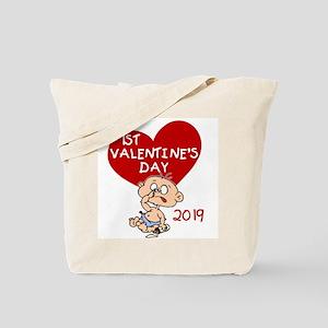 2017 Boy 1st Valentine Day Tote Bag