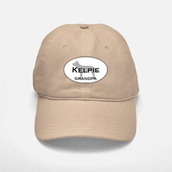Kelpie Grandpa Baseball Baseball Cap
