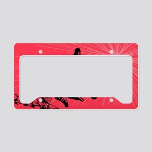 Shoe Butterfly License Plate Holder