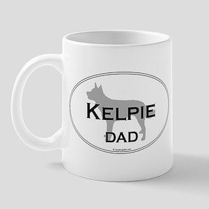 Kelpie Dad Mug