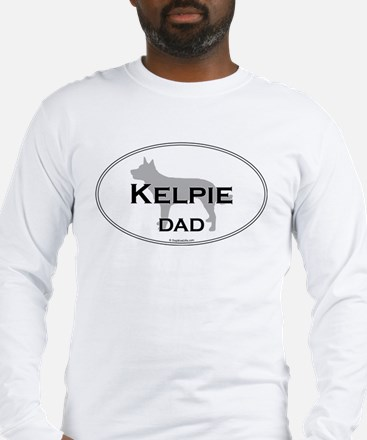 Kelpie Dad Long Sleeve T-Shirt