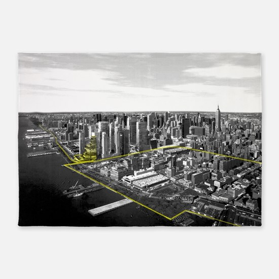 Architecture Thesis 5'x7'Area Rug