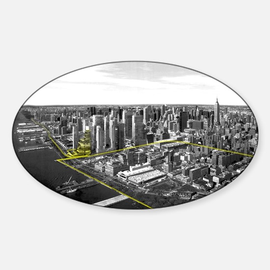 Architecture Thesis Sticker (Oval)