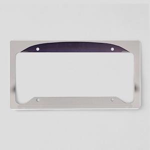 Concept Sports Car License Plate Holder