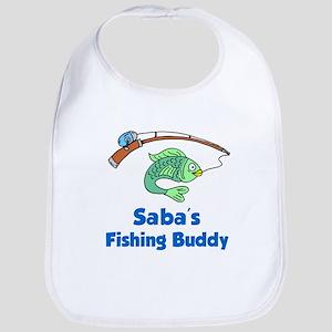 Saba Fishing Buddy Baby Bib