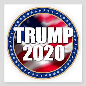 """Trump 2020 Square Car Magnet 3"""" x 3"""""""