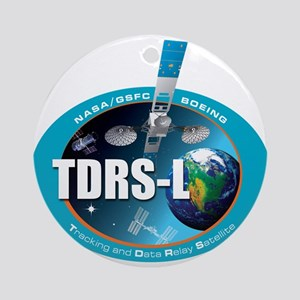 TDRS L Logo Round Ornament