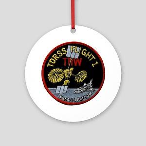 TDRS 1 Logo Round Ornament