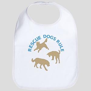 Rescue Dogs Rule Bib